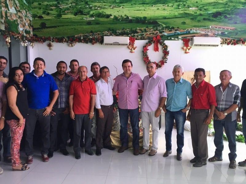 Deputado Galeno Torquato se reúne com lideranças e busca fortalecimento do PSD no Alto Oeste