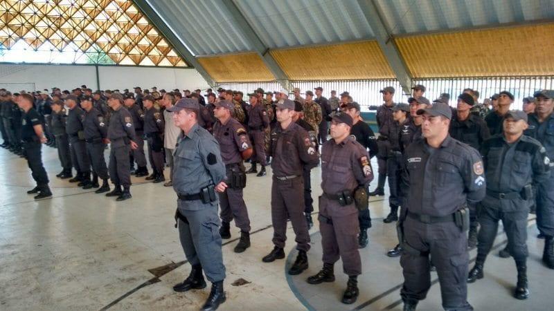 Agentes de segurança do RN iniciam treinamento para Jogos Olímpicos e Paralímpicos