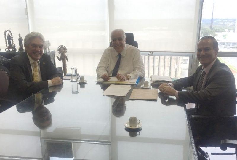 Ex-deputado federal João Maia se reúne com ministro dos Transportes