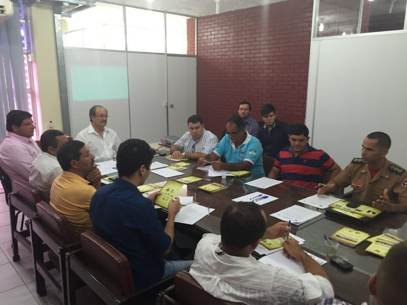 Secretaria de Agricultura do Estado reúne Corpo de Bombeiros e prefeituras para debater Circuito de Exposições Agropecuárias