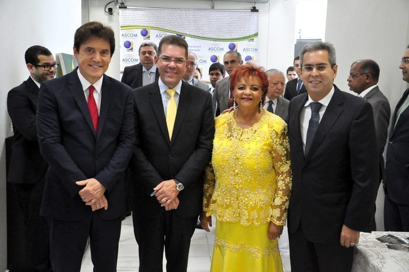 Governador participa de sessão do TRE-RN em homenagem aos ministros Marcelo Navarro e Luiz Alberto Gurgel