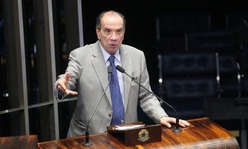 Senador Aloysio Nunes Foto:Gerdan Wesley