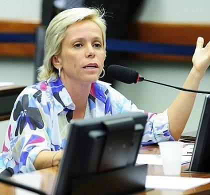 Deputada federal Cristiane Brasil FOTO: Alex Ferreira / Câmara dos Deputados