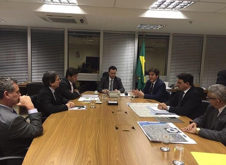 Governador se reúne com ministro das Cidades