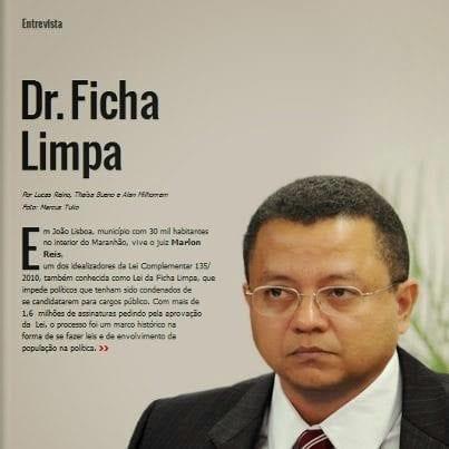 Idealizador do Ficha Limpa torna-se doutor na Espanha