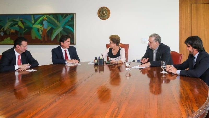 Governador se reúne com a presidente Dilma e apresenta os pleitos prioritários do RN