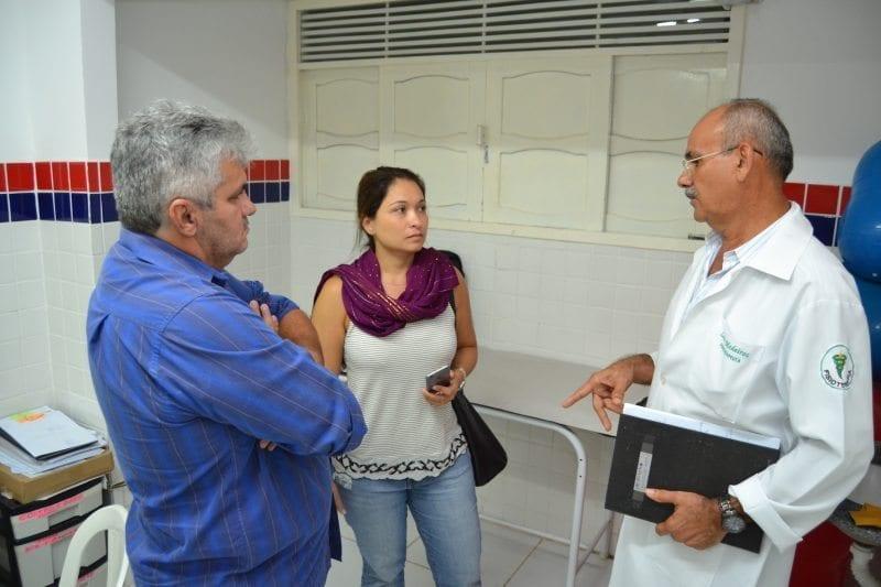 Arquiteta do Ministério da Saúde realiza visita técnica em São Gonçalo do Amarante