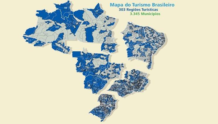 Ministro do turismo prorroga prazo para atualização do Mapa do Turismo Brasileiro
