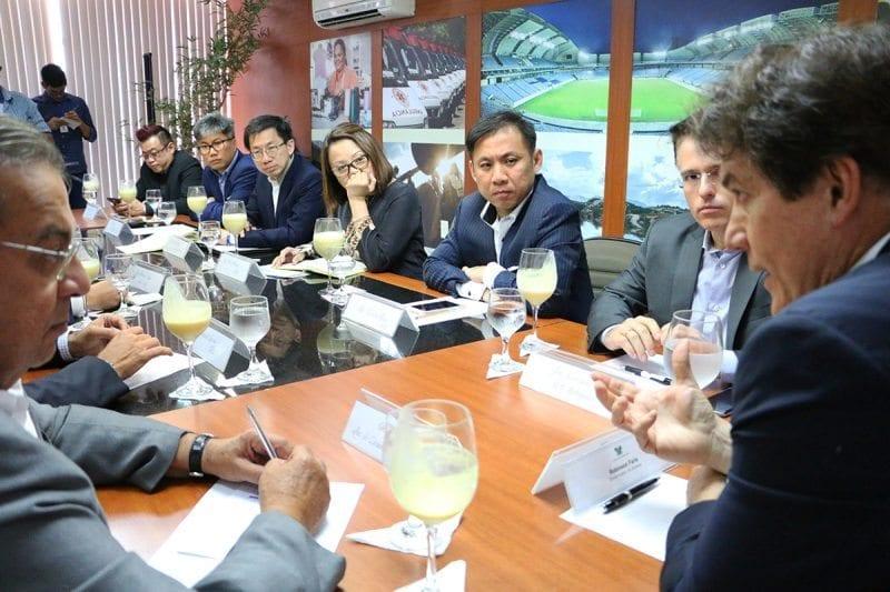 Governador recebe grupo de investidores e apresenta potencial econômico do RN