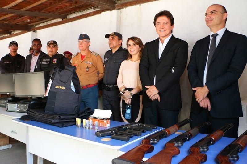 Governo do RN entrega mais de R$ 9 milhões em carros e equipamentos para a segurança pública