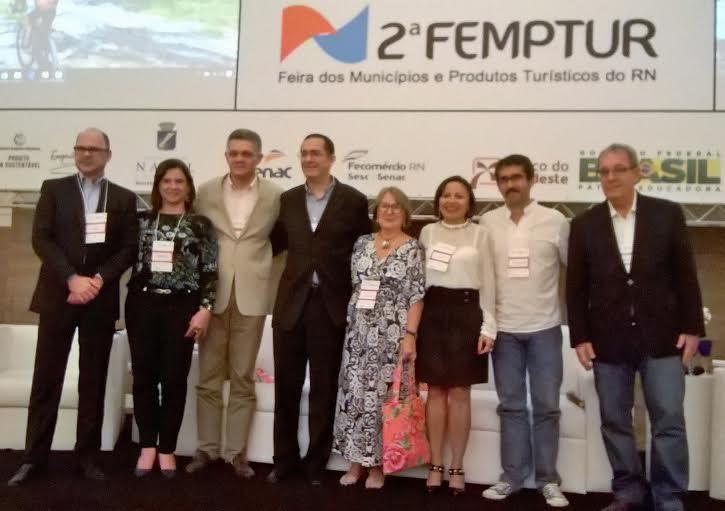 RN promove interiorização em Feira de Turismo no Centro de Convenções