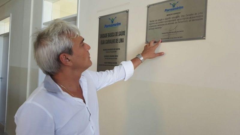Vereador Ricardo Gurgel denuncia que unidade de saúde inaugurada ainda não funciona