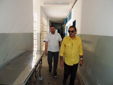 Deputado José Adécio requer reforma no Hospital Regional de Angicos