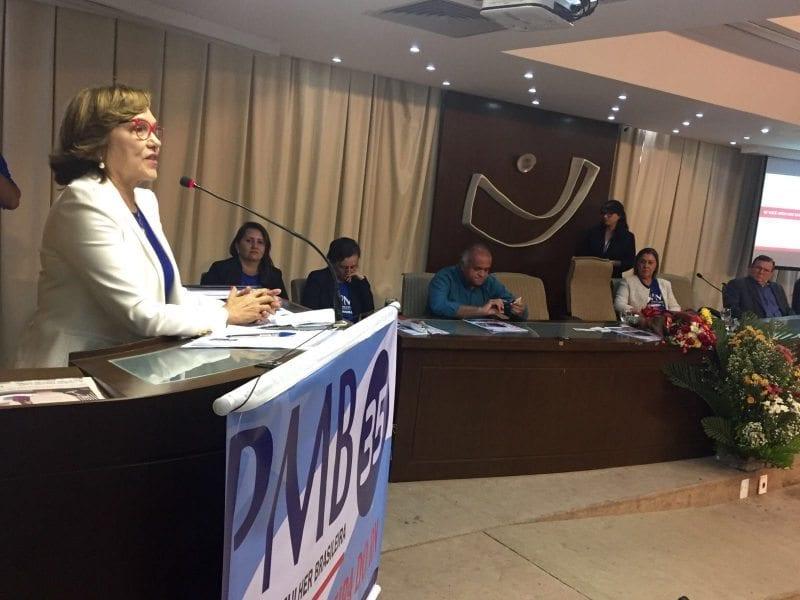 Deputada Zenaide Maia participa da filiação do PMB e lembra necessidade de mais mulheres na política