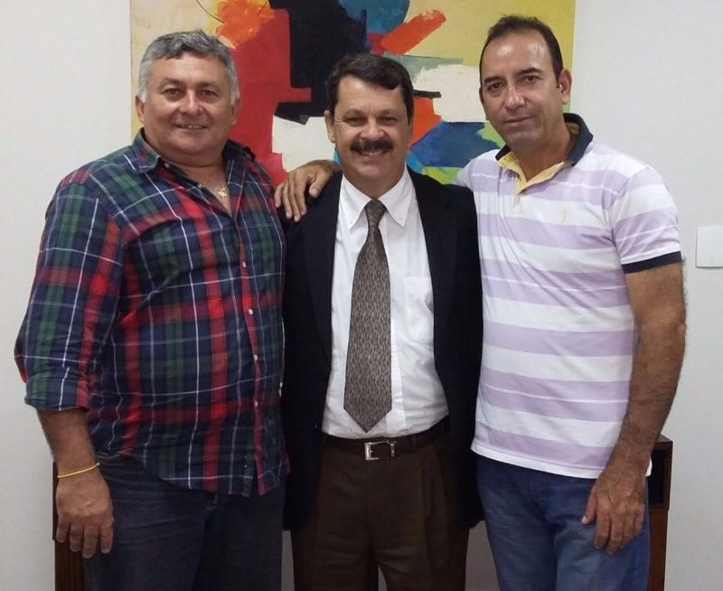 Deputado Ricardo Motta se reúne com lideranças de Ruy Barbosa