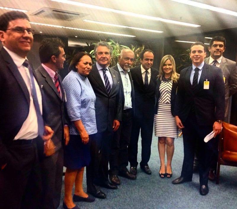 Comitiva do Governo trata sobre devolução do Fundeb com ministro do STF