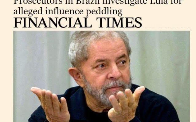 Lula: não há intocáveis no Brasil, diz jornal inglês