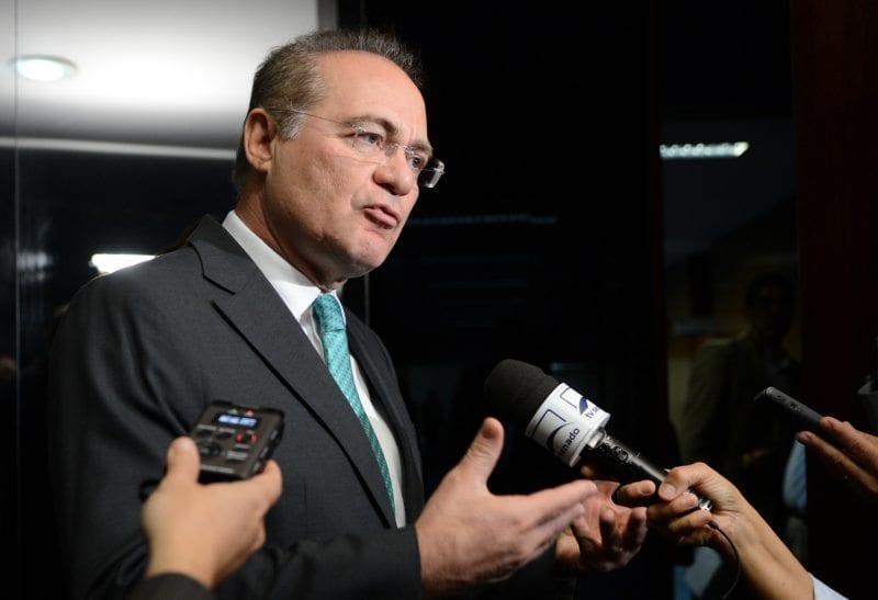 Senador Renan Calheiros Foto: Antonio Cruz / Agência Brasil