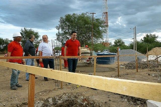 Prefeito de Mossoró visita obras do Parque Municipal