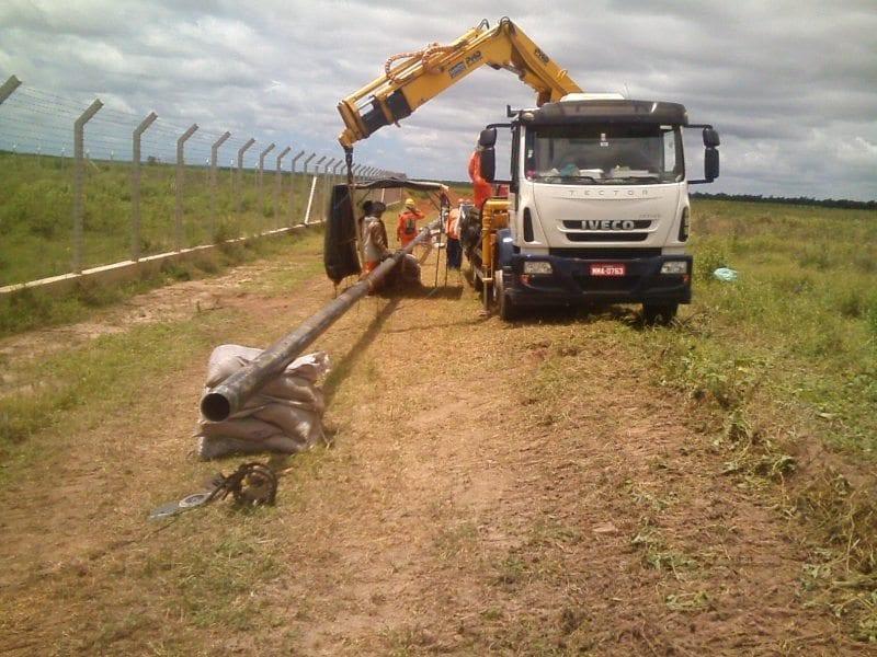 Obra do gasoduto de Goianinha atinge 80% de execução