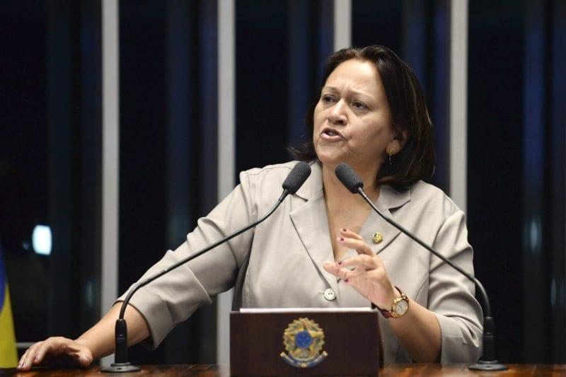 """Senadora Fátima Bezerra: """"Temer não tem condição de pacificar este país"""""""