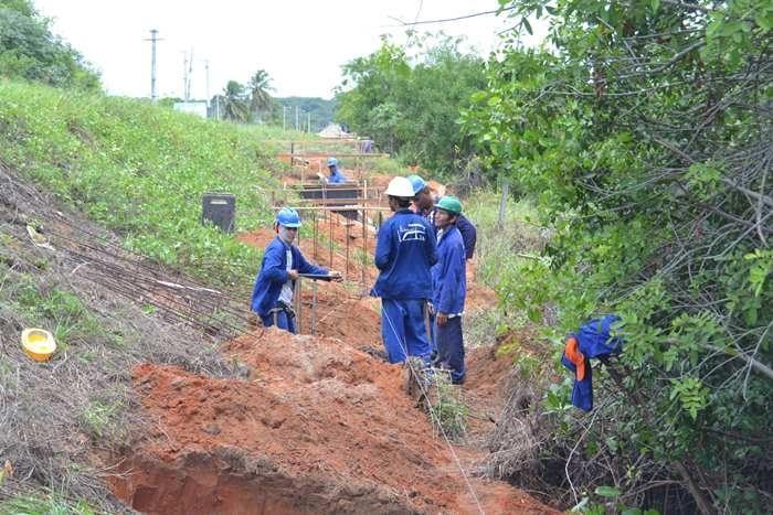 Novo Sistema de Abastecimento D'Água de São Gonçalo tem 90% das obras concluídas
