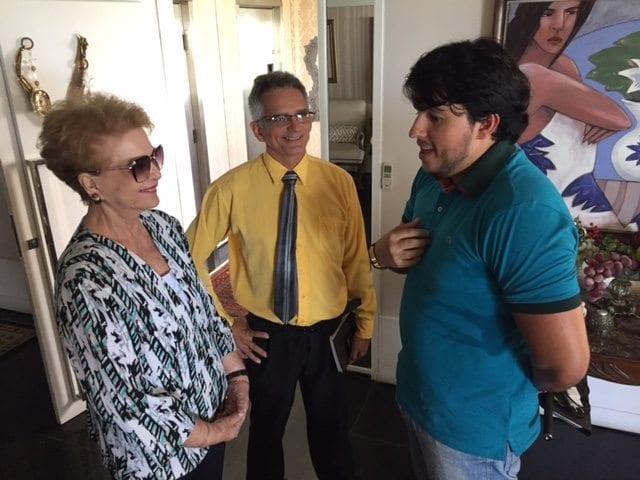 Wilma discute candidaturas do PTdoB com diretórios de Mossoró e Nova Cruz