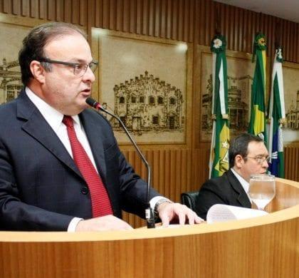 Vereador Paulinho Freire eleito presidente da Câmara de Natal para o biênio 2019-2020