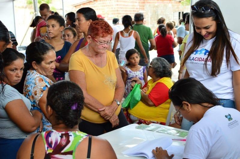 Vila Cidadã chega ao interior do estado neste fim de semana