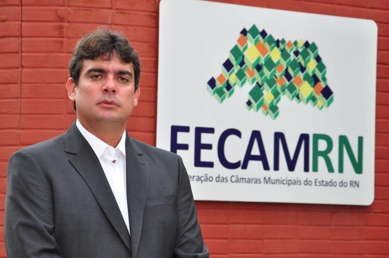 Federação das Câmaras de Vereadores do RN tem novo presidente