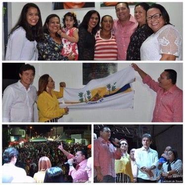 Ezequiel Ferreira participa de inaugurações em Brejinho, no Agreste Potiguar