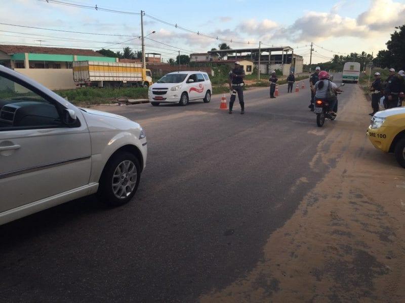 23 condutores são notificados e 21 veículos apreendidos durante patrulhamento no Planalto e  Cidade da Esperança em Natal