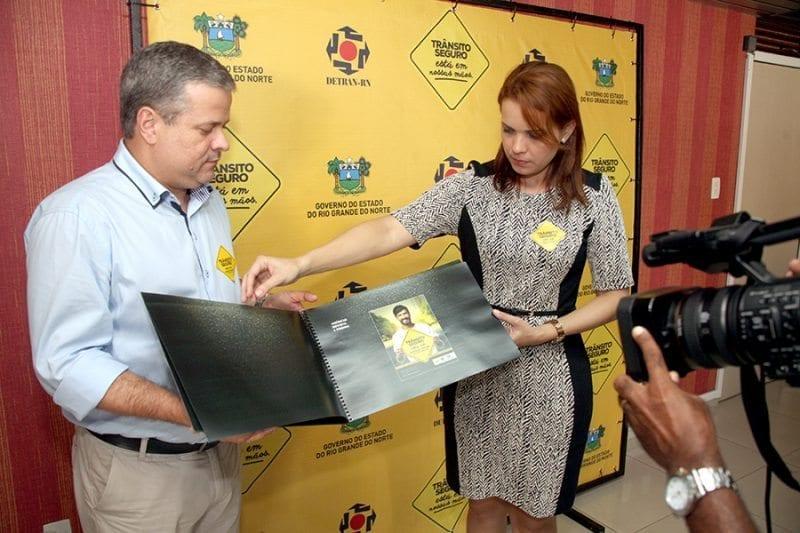 Governo do Estado lança no Detran a nova campanha educativa do trânsito