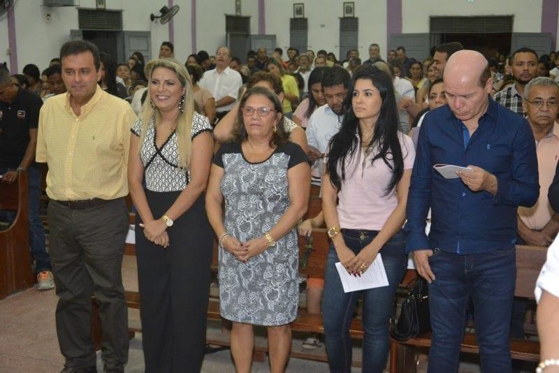 Vereadora Eudiane Macedo em celebração pelo aniversário