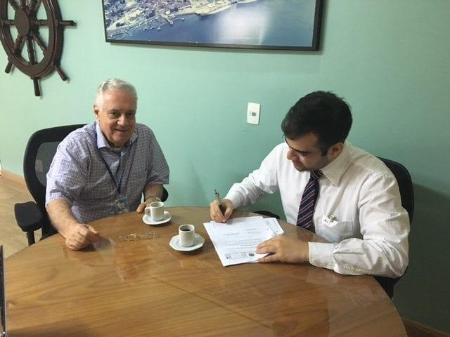 Novo administrador do Porto de Maceió é empossado pelo Presidente Interino da CODERN