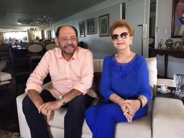 Wilma de Faria se reúne com o deputado Gustavo Carvalho