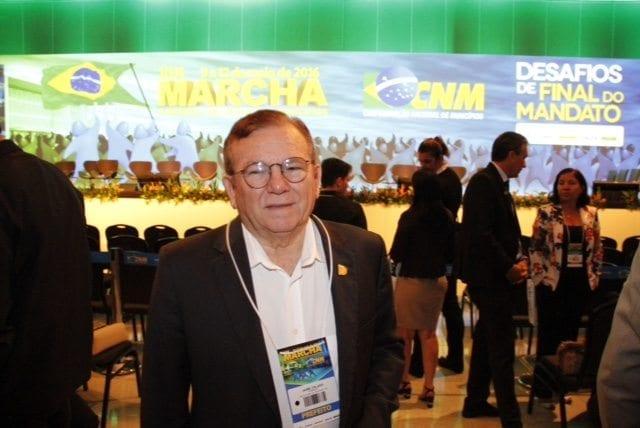 Prefeito Jaime Calado participa da Marcha dos Prefeitos em Brasília