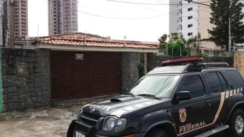 """Agentes Federais cumprem busca e apreensão em Natal durante operação """"Terra Arrasada"""""""