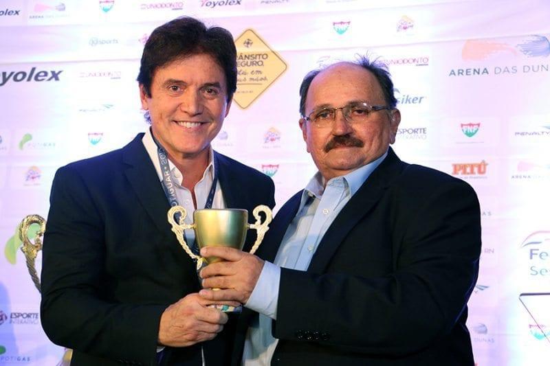 Governador destaca reforço da segurança no Campeonato Estadual durante prêmio Craque Potiguar