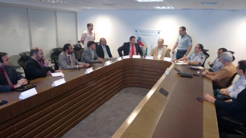 Secretário da Segurança se reúne com membros do Gabinete de Gestão Integrada do RN