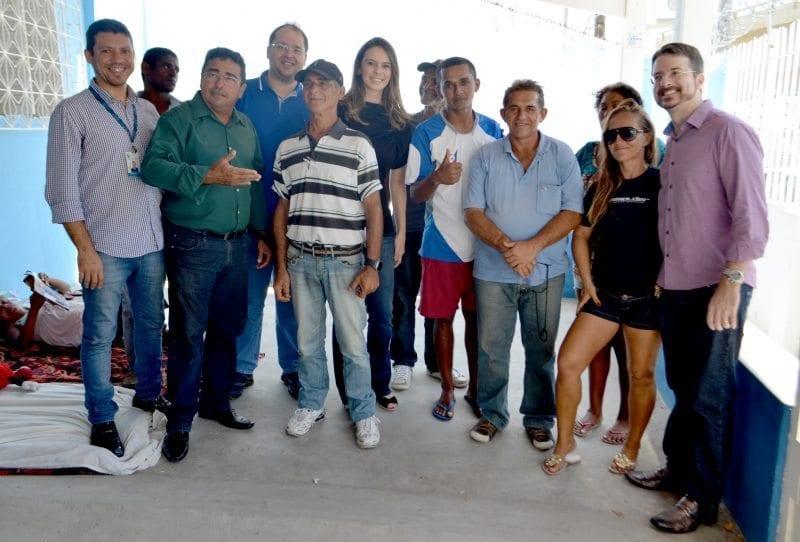 Vereadores visitam entidade que recebe pessoas em situação de rua