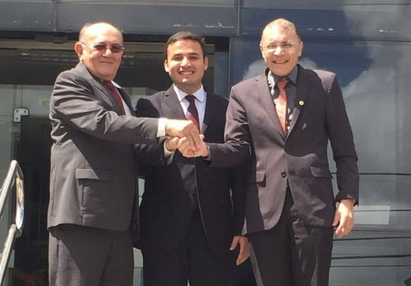 Deputado Albert Dickson declara apoio ao candidato lançado por Vivaldo Costa em Caicó