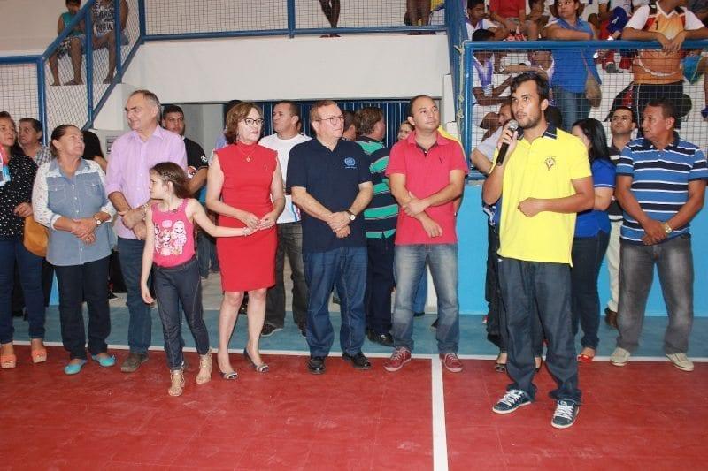Inaugurado Ginásio Poliesportivo do Golandim/Novo Amarante