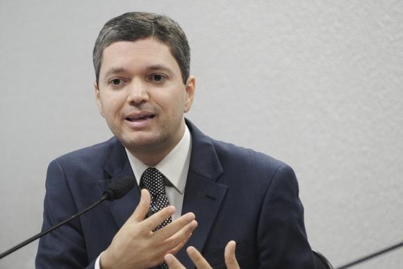 Ministro Fabiano Silveira Foto: Geraldo Magela/Câmara dos Deputados