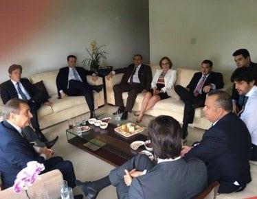 Senadora Fátima Bezerra foi a única ausente na reunião da bancada federal do RN