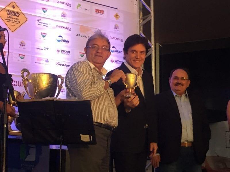 Governador Robinson Faria participa de entrega dos melhores do Campeonato estadual