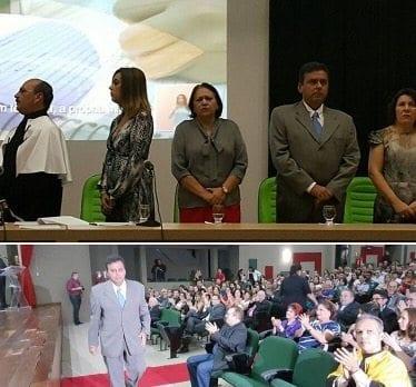 Políticos participam da posse do novo reitor do IFRN