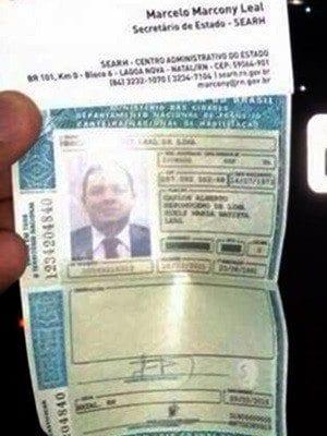 Ex-secretário de Administração se recusa a fazer o teste do bafômetro e tem carteira de habilitação retida