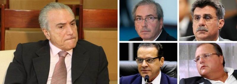 Michel Temer admite que poderá levar para ministros indicados da Lava Jato