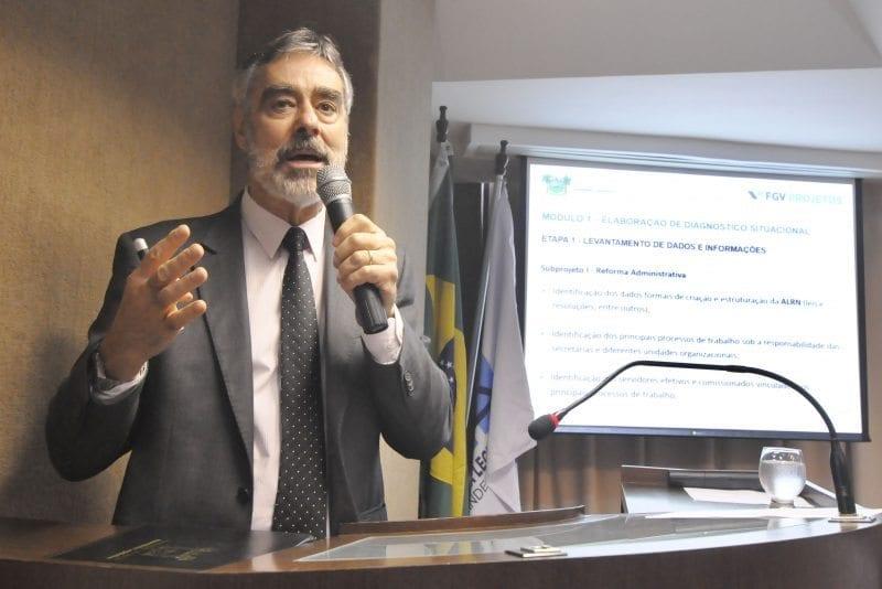 FGV detalha passos para Reforma Administrativa da Assembleia Legislativa